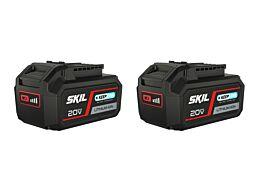 "SKIL 3105 BA Akumulátor ""20V Max"" (18 V) 5,0 Ah Li-Ion ""Keep Cool™"" (2×)"
