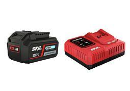 "SKIL 3111 AA Akumulátor (""20V Max"" (18 V) 4,0 Ah ""Keep Cool"" Li-Ion) anabíjačka ""Rapid"""